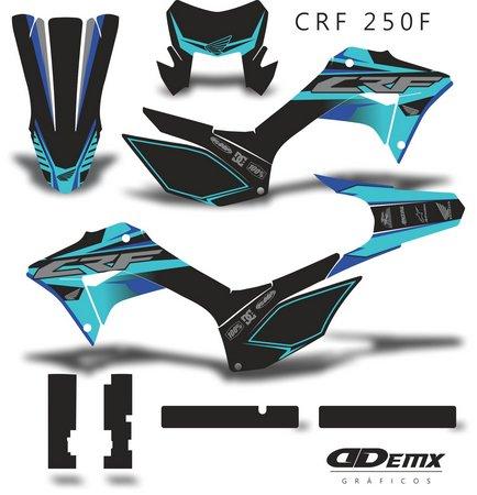 Kit Gráfico Motos Honda Off-Road