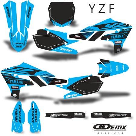 Kit Gráfico Motos Yamaha Off-Road