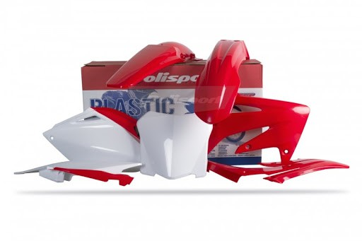 Kit Plástico Honda Crf250r 08/09 Polisport