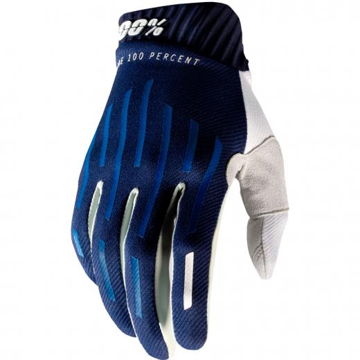 Luva 100% Ridefit Azul