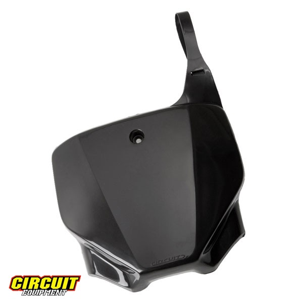 Number Plate Circuit Especial CRF 230 Preto