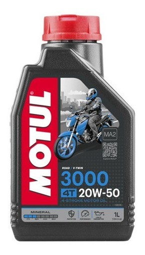 Óleo Motul 3000 20w50 4t Mineral