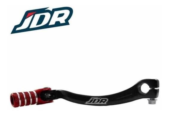 Pedal de Câmbio em Alumínio Honda CRF 250 04/09 + CRF X 250 04/15 Preto/Vermelho JDR