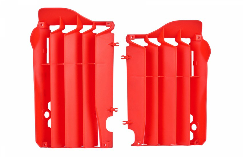 Protetor do Radiador Honda CRF 250R (2014>) Polisport Vermelho