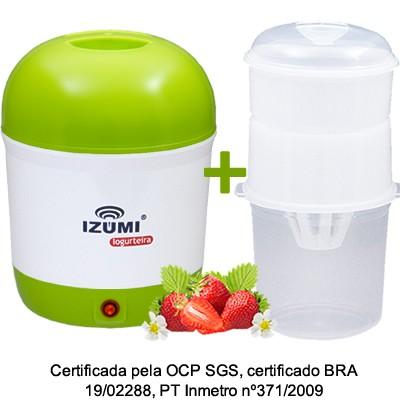01 Iogurteira Elétrica Bivolt + 01 Dessorador