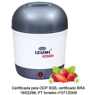 01 Iogurteira Elétrica Cinza