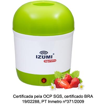 01 Iogurteira Elétrica Verde