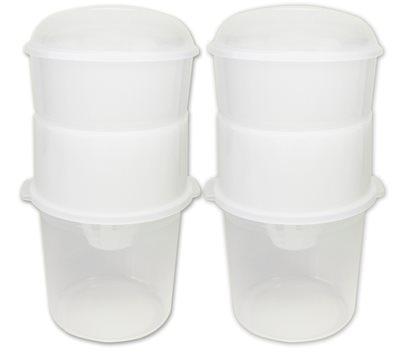 02 Dessoradores de Iogurte (Ideal para preparo de Iogurte Grego) - Brinde: 2 Bio Rich