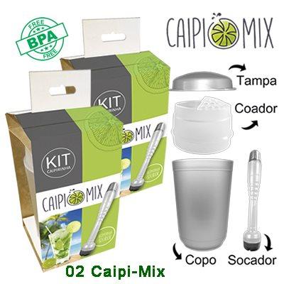 02 Unidades Caipi-Mix
