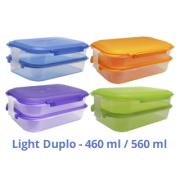 Kit c/ 04 Marmiteira Light Duplo Color (azul, laranja, roxo, verde)