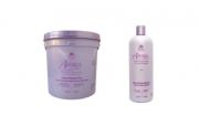 Avlon Affirm Relaxamento Sódio Resistente Plus 1,8 Kg + Avlon Affirm Shampoo Normalizing 950ml - G