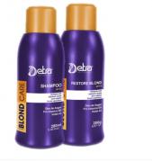 Detra Blond Care Shampoo 280ml + Blond Care Restore 280g - R