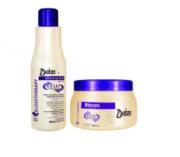 Detra Duo Shampoo Nutri Control 500ml+Nutri Control Máscara 400g - R