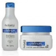 Hobety Kit Platinum Plus - Shampoo 300ml e Máscara 300g