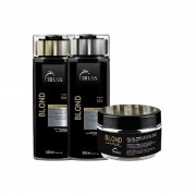 Kit Truss Trio Specific Blond Hair Shampoo 300ml + Condicionador 300ml + Máscara 180g