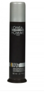 Loreal Professionnel Homme Mat Force 4 - Pasta de Modelagem Efeito Mate 80ml - CA