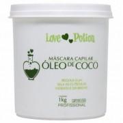 Love Potion Máscara de Hidratação Óleo de Coco 1Kg - T
