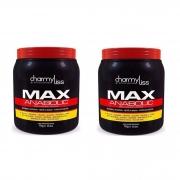 Máscara Anabolizante Capilar Max Anabolic Charmyliss 1kg - 2 unidades