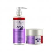Salvatore Angelux Profissional Kit Shampoo 480ml + Máscara 250gr - R