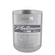 Souple Liss Pó Descolorante Platinum Blond Plex Dust Free 500g - T