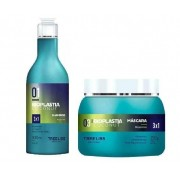 Tree Liss Bioplastia Coconut Kit Manutenção Shampoo 300ml + Máscara 250g - R
