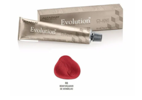 Alfaparf Tinta Evolution Color of Cube 3D Cor Nº Rb 60ml