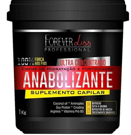 Anabolizante Forever Liss Creme de Hidratação Ultra Concentrado 950g