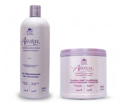 Avlon Affirm Combo Reconstrutor 5 in 1 950ml + Affirm Positive Link 650ml - G