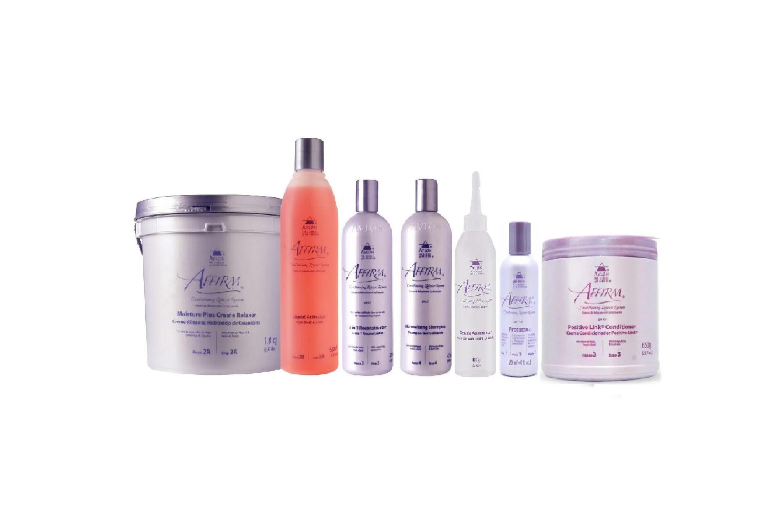 Avlon  Affirm Econokit Combo Relaxamento Guanidina Profissional Pequeno - 7 produtos - G