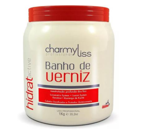 Banho De Verniz Capilar Charmyliss 1kg Cabelos Super Hidratados