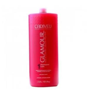 Cadiveu Glamour Rubi Shampoo Lavatório 3000ml - P
