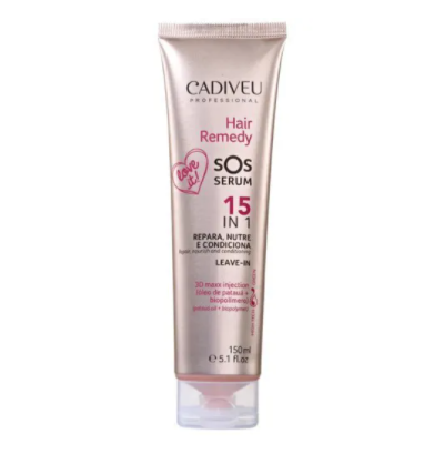 Cadiveu Professional Hair Remedy SOS Serum 15 em 1 - Leave-in 150ml - P