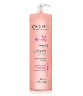 Cadiveu Shampoo Hair Remedy Lavatório 980ml - P