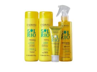 Cadiveu Sol do Rio Home Care Kit 4 Produtos - P