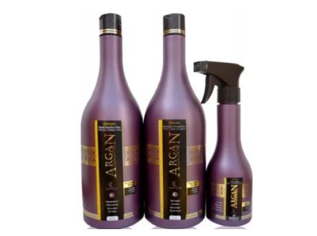 Capelli Argan Concentré Cauterização Hidratação e Reconstrução -KIT 3 produtos - R