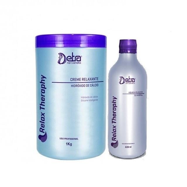 Combo Detra Hidróxido de Cálcio 1kg + Detra Guanidina Líquido Ativador 500ml - R