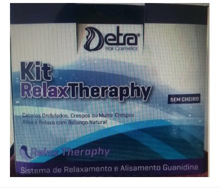 Detra Kit Relax Theraphy Guanidina - Rexalamento Capilar Guanidina - R