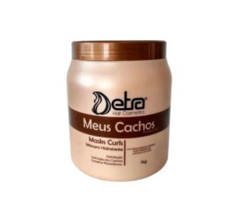 Detra Meus Cachos Masks Curls 1Kg - Máscara Cachos - R