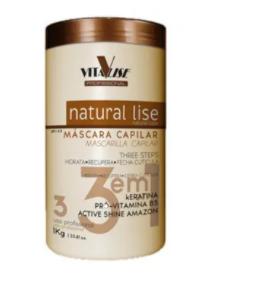 Detra Natural Lise Máscara Capilar 3 em 1 1Kg - R