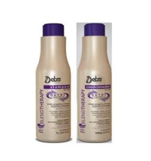 Detra Nutri Control Duo Shampoo Nutri Control 2x 500ml e Condicionador Nutri Control 2x 500ml - R