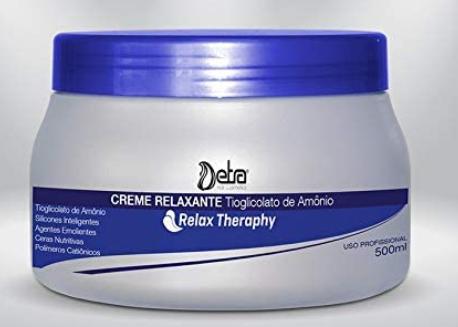 Detra Relax Therapy Creme Relaxante Tioglicolato de Amônio 500ml - R