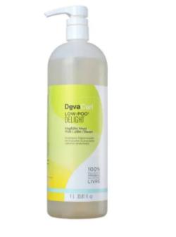 Deva Curl Low Poo Delight Shampoo 1L - G