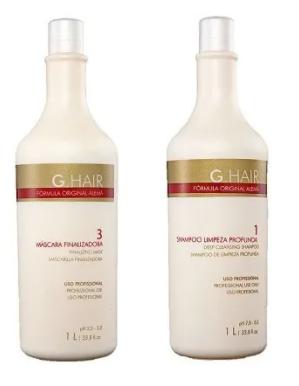 Duo G.Hair hidratação - Shampoo Limpeza 1000ml + Máscara Hidratação 1000ml