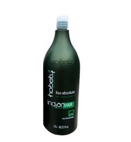 Escova Progressiva Indian Hair Liso Absoluto Hobety 1,5L