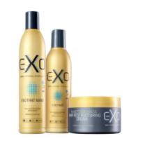 Exo Hair Exotrat Nano Kit Home Use Reconstrução 3 Produtos - CS