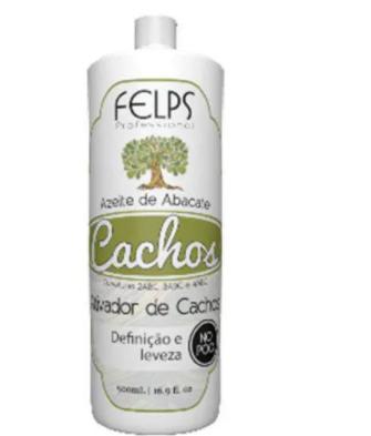 Felps Cachos Azeite De Abacate Ativador de Cachos 500ml