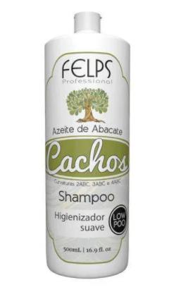 Felps Cachos Azeite De Abacate Shampoo Low Poo 500ml