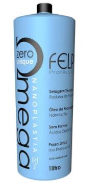 Felps Escova Progressiva Omega Zero Unique Nanoplastia Capilar 1L