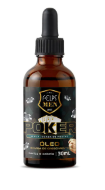 Felps Men Óleo para Barba Poker 30ml - P