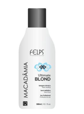 Felps Profissional Macadâmia Ultimate Blond Selagem Térmica 300ml